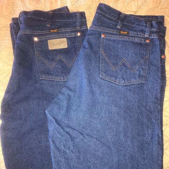 mens wrangler jeans 40x34